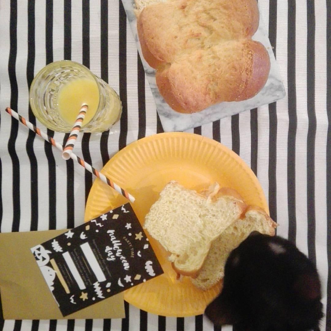 Petit déjeuner Halloween