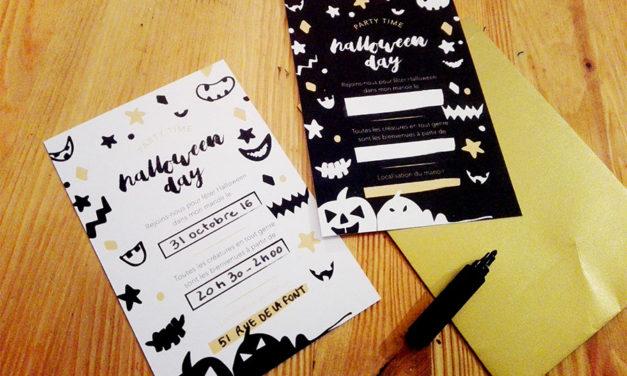 Organisez une fête et téléchargez vos cartons d'invitation Halloween