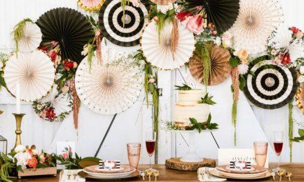 Apportez une touche de légèreté à votre mariage avec des rosaces en papier