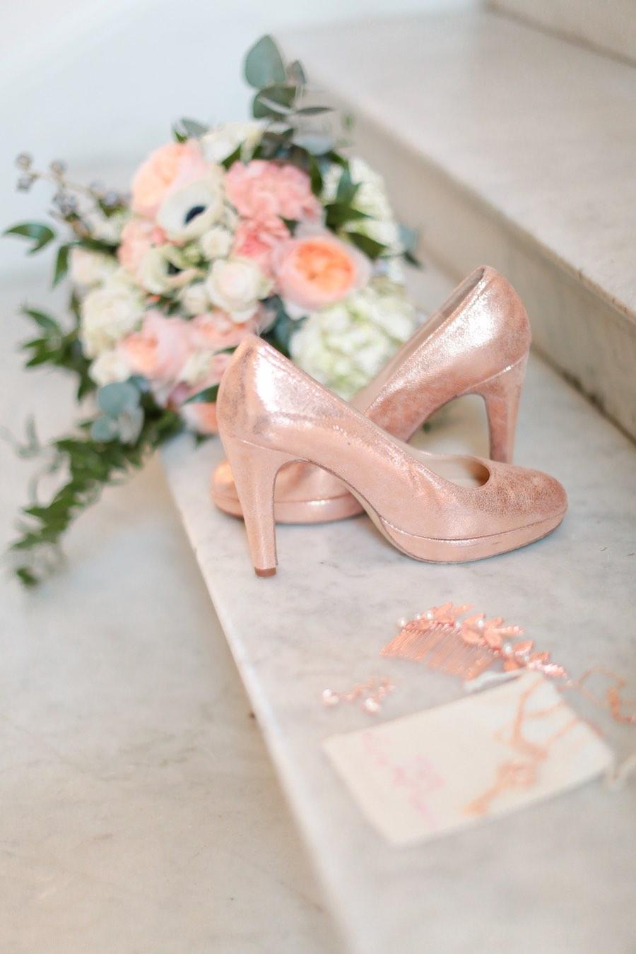 Id 233 Es Pour La D 233 Coration D Un Mariage Rose Gold Le Blog