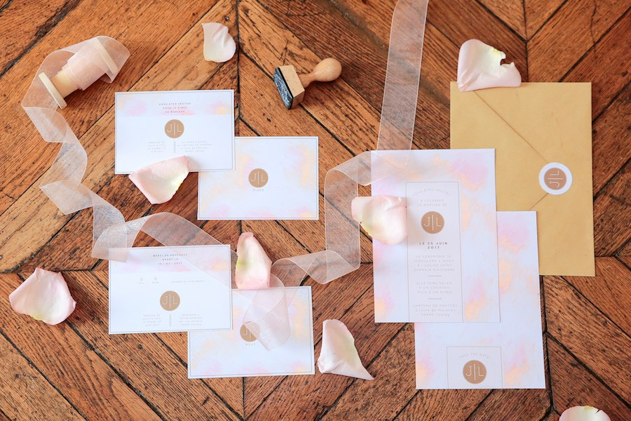 Mariage-rose gold-papeterie-studio-quatremain