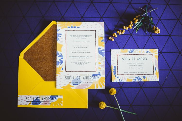 Prestataires de la décoration de mariage - Papeterie - HéCapture !